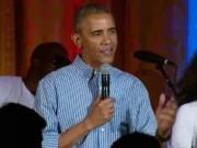 Video: Tổng thống Obama hát chúc mừng sinh nhật con gái