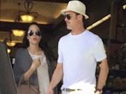 Làng sao - Angelina Jolie và Brad Pitt lần đầu lộ diện sau tin đồn ly hôn