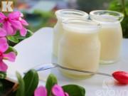 Cách làm sữa chua thơm ngon tại nhà