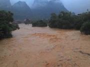 Ngày mới - Yên Bái: 2 người bị mưa lũ cuốn trôi, mất tích