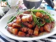 Bếp Eva - Thịt ba chỉ rim mặn đậm đà, trôi cơm