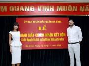 Tin tức - Lễ đăng ký kết hôn của siêu mẫu Hà Anh là bình thường, sao lại bị 'ném đá'?