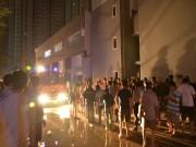 Tin tức - Cháy chung cư ở Sài Gòn, người dân khóc cầu cứu từ trên cao