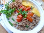 Bếp Eva - Bún thịt bò băm bổ dưỡng cho ngày mới