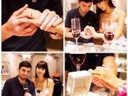Làng sao - Hà Anh khoe nhẫn cưới gắn 80 viên kim cương