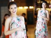 Thời trang - Thời trang sao Việt đẹp tuần qua: Hồng Quế bầu vượt mặt vẫn cực hot