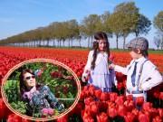 Nhà đẹp - Vườn đẹp như tiên cảnh của mẹ Việt ở làng hoa nổi tiếng thế giới