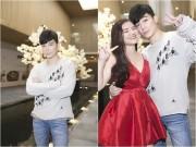 Làng sao - Nathan Lee trẻ trung đi xem phim cùng học trò Hồ Quỳnh Hương