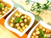 Bếp Eva - Chè đậu xanh hạt sen giải nhiệt ngày hè