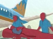 Tin tức - Chuyến bay chuyển bệnh nhân đặc biệt của Vietnam Airlines