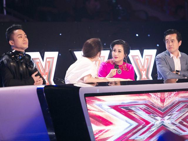 X-Factor 2016: Tùng Dương bực tức, phản đối gay gắt bài hát của Dương Khắc Linh ngay trên sóng trực tiếp!