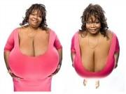 Làm đẹp - Kiếm tiền tỉ nhờ sở hữu bộ ngực to nhất thế giới