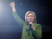 Tin tức - Hillary Clinton chính thức trở thành ứng viên nữ đầu tiên tranh cử Tổng thống Mỹ