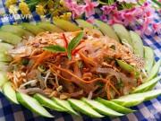 Bếp Eva - Nộm sứa giòn sần sật thật hấp dẫn