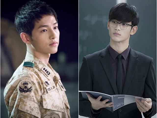 Ngôi sao 24/7: Song Joong Ki đánh bại Kim Soo Hyun là sao hot nhất xứ Đài