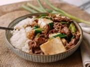 Bếp Eva - Thịt bò sốt đậu phụ, lạ mà ngon