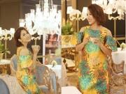Thời trang - Diva Mỹ Linh thích mặc váy suông rộng để tôn dáng