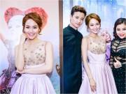 Làng sao - Minh Hằng xinh như công chúa, đi xem phim cùng dàn nghệ sĩ trẻ