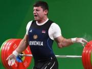 Cố gắng nâng tạ, vận động viên người Armenia bị gãy tay kinh hoàng