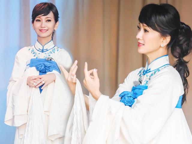 61 tuổi, biểu tượng sắc đẹp TVB Triệu Nhã Chi vẫn trẻ mãi không già