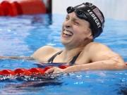 Nữ kình ngư Katie Ledecky: 19 tuổi và 13 kỷ lục thế giới bơi lội!