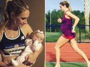 Nỗ lực phi thường của nữ VĐV Olympic khi đang mang thai