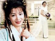 """Làng sao - Hé lộ hình ảnh Nhạc Linh San của """"Tiếu ngạo giang hồ"""" kết hôn lần 2"""