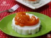 Bếp Eva - Bánh Trung thu rau câu bí đỏ cực dễ làm
