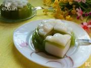 Bếp Eva - Bánh Trung thu thạch rau câu vị lá dứa dễ làm mà ngon