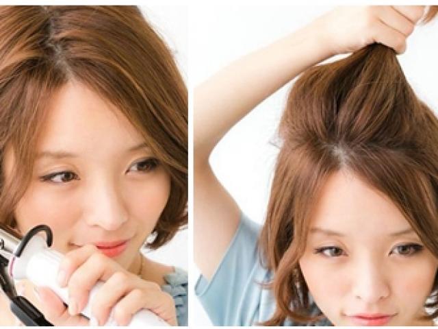 Biến tấu những kiểu tóc đẹp cho cô nàng tóc ngắn