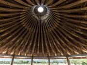 Nhà đẹp - Hòa Bình: Nhà hàng hình nón bằng tre gây sốt trên báo Mỹ