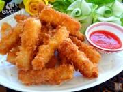 Bếp Eva - Ngon cơm với cá chiên xù
