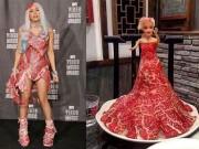 Thời trang - Váy thịt của Lady Gaga trở thành gợi ý món lẩu bò