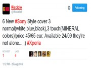 Eva Sành điệu - Sony Xperia XR và Xperia X Compact ra mắt ngày 24 tháng 9