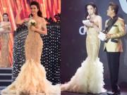 Thời trang - Hoa hậu Việt Nam 2016: Vừa đăng quang Tân Hoa hậu đã đụng váy của Huyền My
