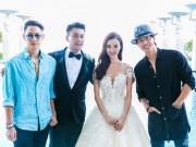 Làng sao - Ngôn Thừa Húc, Ngô Kiến Hào hội ngộ trong đám cưới Chu Hiếu Thiên