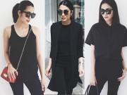 Thời trang - Với thần thái của Hà Tăng, chỉ cần mặc đồ đen và tô son đỏ là quá đủ!
