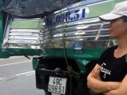 Tin tức - Tài xế xe tải liều mình cứu xe khách mất phanh khi đổ đèo