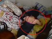 Clip Eva - Cô gái sốc nặng khi lắp camera theo dõi người giúp việc bạo hành mẹ già
