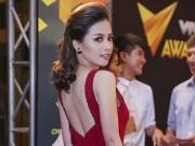 Sao Việt - Dương Hoàng Yến lộng lẫy sắc đỏ tại VTV Awards