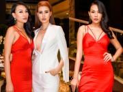 Thời trang - Khó rời mắt trước vẻ gợi cảm của 2 bà mẹ đơn thân Diệu Huyền và Thanh Hoài