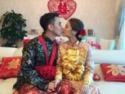 Làng sao - Ngôi sao 24/7: Hoa hậu Hongkong đeo vàng nặng trĩu cổ trong ngày cưới