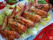 Bếp Eva - Cánh gà nướng thơm lừng góc bếp