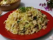 Bếp Eva - Cơm chiên cá mặn hấp dẫn ngày mới