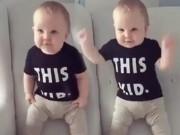Clip Eva - Em bé siêu cute nhảy theo nhạc cực dễ thương