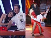 Làng sao - Bước nhảy ngàn cân: Lan Khuê, Mr Đàm chết mê vì cái cắn môi của cô nàng gần 80kg