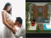 """Phan Như Thảo gây """"ghen tỵ"""" khi khoe 3 biệt thự chồng xây cho con gái"""