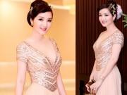 Làm đẹp - Hoa hậu Giáng My đẹp lộng lẫy đi chấm thi