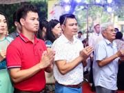 """Làng sao - Dàn """"Táo"""" cùng đông đảo nghệ sĩ Hà Nội hội tụ trong lễ giỗ Tổ nghề"""