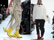 Đôi giày hai đầu tại New York FW khiến giới thời trang xôn xao